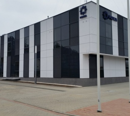 Zakończyliśmy prace nawierzchniowe na terenie nowo wybudowanej Komendy Powiatowej Policji w Gryfinie