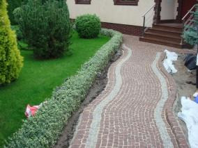 Nawierzchnia z kostki granitowej Szczecin
